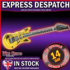 "FANCY DRESS ACCESSORY ~ ROCK 'N' ROLL MUSIC STAR 40"" INFLATABLE GUITAR"